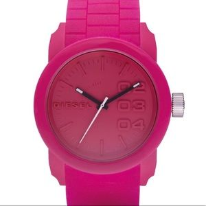 Diesel Analog Pink Dial Watch